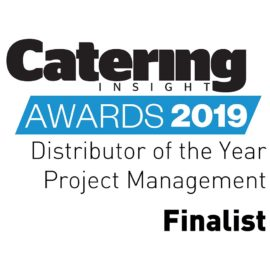 Project Management finalist at the Catering Insight Awards 2019