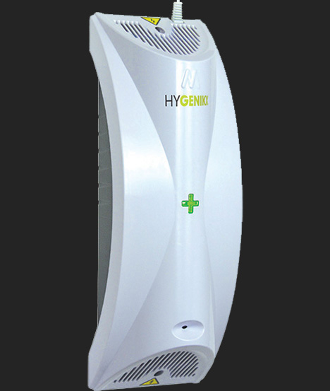HyGenikx Infection Control - White Side View